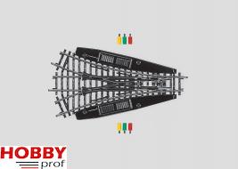 Symmetrical Three-Way Turnout