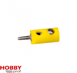 Pin Connector - Yellow