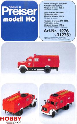 Hose Carrier SW 2000 Magirus Mercur 125A