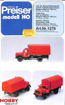 Tank Lorry Civil Protection, Magirus Mercus 120 A-L