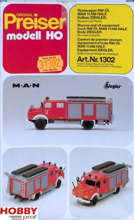 Fire Truck Man 11.168 Half
