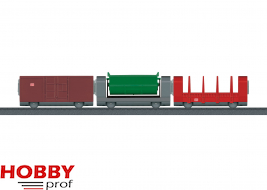 Add-On Car Set for the Freight Train.