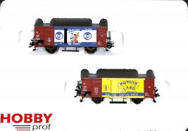 """Freight car set """"Wirtschaftswunder"""""""