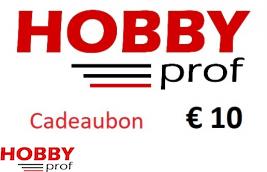 Cadeaubon t.w.v. €10,00