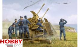 Trumpeter German 37mm Flak 43 Zwilling 1:35 #02347