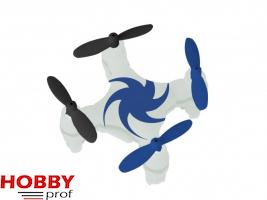 "Micro Quadrocopter ""Proto Quad"" Wit/Blauw #23930"