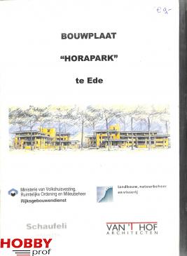 """Bouwplaat """"Horapark"""" te Ede"""