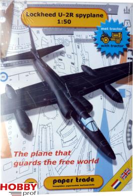 Bouwplaat van Lockheed U-2R