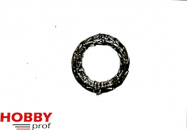 Laurel wreath ornament h. 22mm